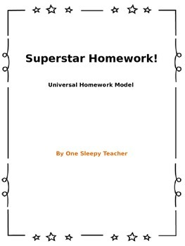 Superstar Homework