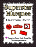 Superstar Marquee Classroom Decor Pack