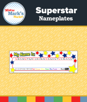 Superstar Nameplates