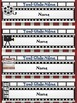 "Hollywood/Movie Theme ""Editable Type-in-Names Deskplates"" (Various Designs)"