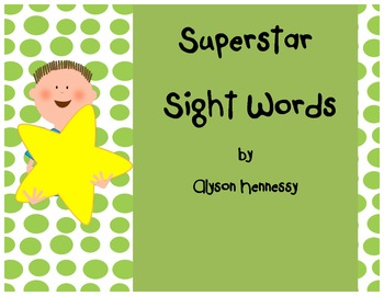 Superstar Sight Words-English!!! (1st Grade, Treasures)