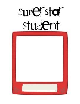 Superstar Student Letters