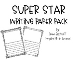Superstar Writing Paper Pack!
