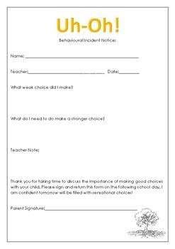 Superstar and Behavior Notice