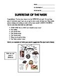 Superstar of the Week