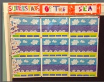 Superstars of the Sea Classroom Behaviour Management Display Pack