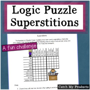 Logic Puzzle  About Superstitions