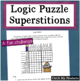 Logic Puzzle for 4th Graders