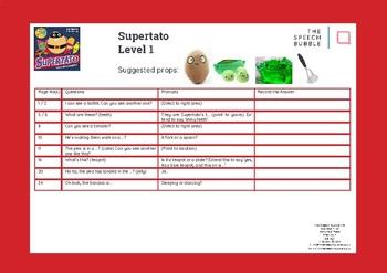 Supertato - Book Bag Speech and Language Resource
