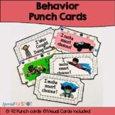 Superteach Behavior Punch Cards