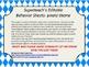 Superteach's Behavior Communication Sheet - Pirate theme (editable)