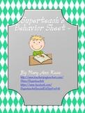 Superteach's Behavior Sheet