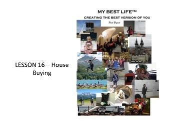 (Supplement 3) MyBestLife Slides for Lessons Sixteen to Twenty-seven