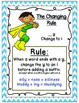 Supplement to Phonetic Rules and Spelling Anchor Charts
