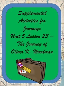 Supplemental Activities- Journeys Unit 5 Lesson 23 - Olive