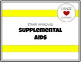 Supplemental Aids Math (Editable Option)