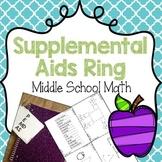 Supplemental Aids {Math} Middle School