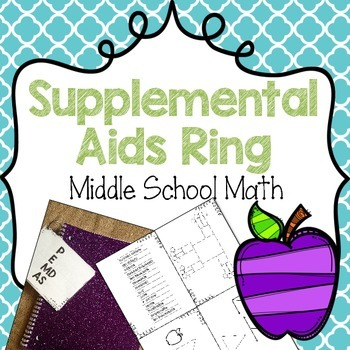 Supplemental Aids {Math} Middle School