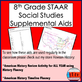 Supplemental Aids for History: Mapping & Mnemonics (STAAR)