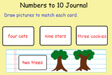 Counting and comparing numbers to 10 Anchor Tasks for Math in Focus 1st Grade