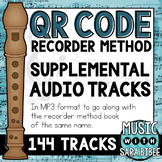 QR Recorder Method {Supplemental Audio Tracks}