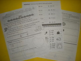 Supplemental Homework Pack to Differentiate Instruction