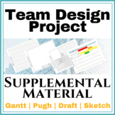 Supporting Paperwork for Team Design Projects | Gantt, Pug