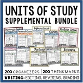 Supplemental Printables Bundle:10 Months of Reading & Writ