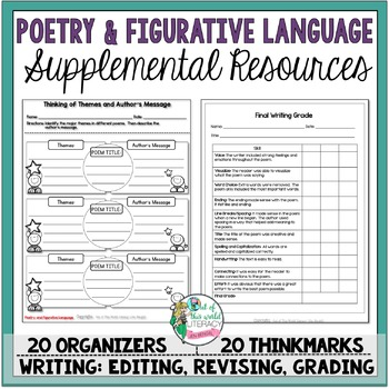 Supplemental Printables for the Unit:'Poetry and Figurativ