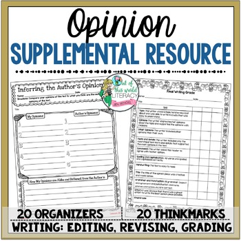 Opinion Unit of Study Supplemental Resource