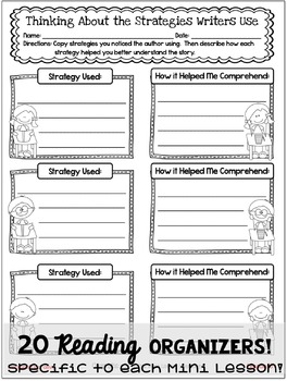 Supplemental Printables for the unit:'Personal Narrative Unit of Study'