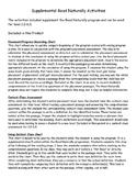Supplemental Read Naturally Activities