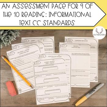 Supplemental Report Card Assessments (Reading: Informational Text)