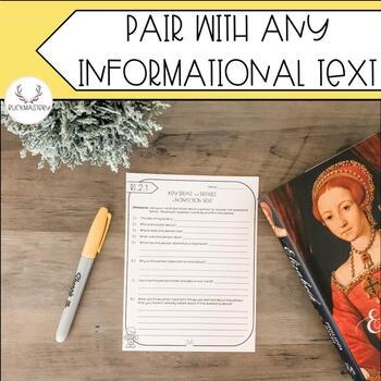 Supplemental Report Card Assessments (Informational Text)