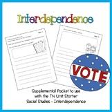 Supplemental Sheets for TN UNIT Starter on Interdependence