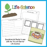 Supplemental Sheets for TN UNIT Starter on Life Science