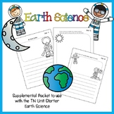 Supplemental Sheets for TN Unit Starter - Earth Science