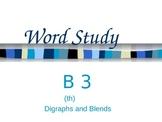 Supplemental Word Study Power Point (B 3) based on Ganske'