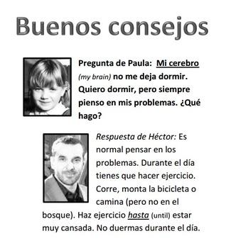 Supplemental materials for episode 2 of El Internado