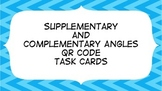 Supplementary and Complementary QR Code Task Cards