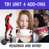 Supplementary materials - TB1 Unit 4 - Soccer, Cafés, Cinéma