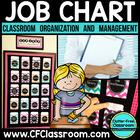 Job Chart EDITABLE for Back to School