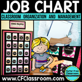 Job Chart Using Library Pockets, EDITABLE {Tips for Managi