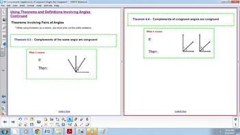 Complements and Supplements of Congruent Angles are Congruent