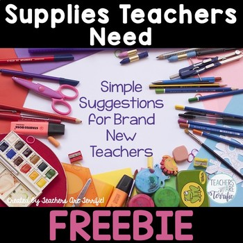 Supplies Teachers Need (That No One Warned Us About)