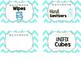 Supply Bin Labels