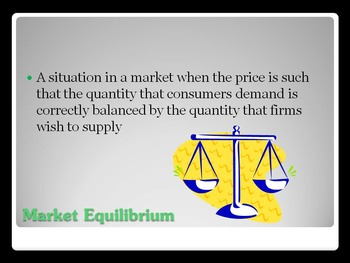 Supply & Demand/SWOT PowerPoint, Notes, and Activity