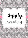 Supply Inventory Freebie