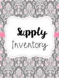 Supply Inventory Freebie