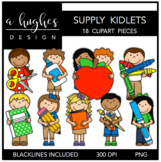 Supply Kidlets Clipart {A Hughes Design}